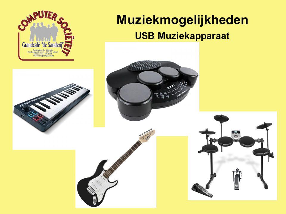 Muziekmogelijkheden USB Muziekapparaat