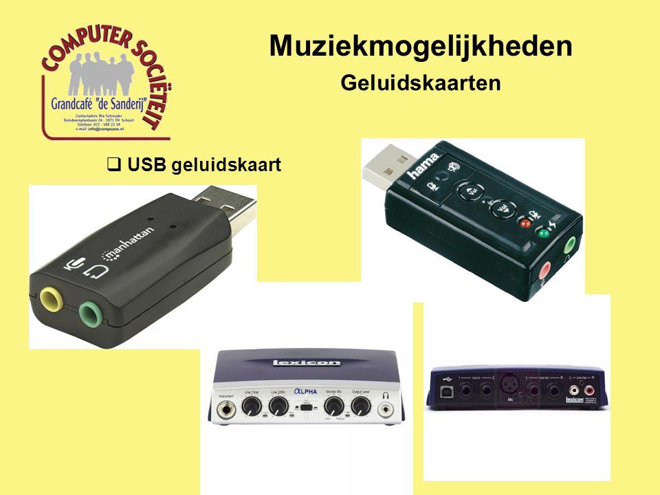 Muziekmogelijkheden Speakerset