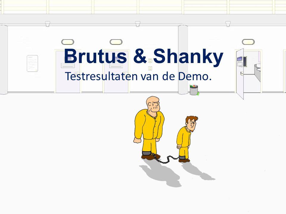 Testresultaten van de Demo. Brutus & Shanky