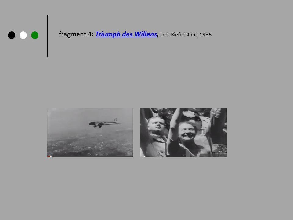 fragment 4: Triumph des Willens, Leni Riefenstahl, 1935Triumph des Willens