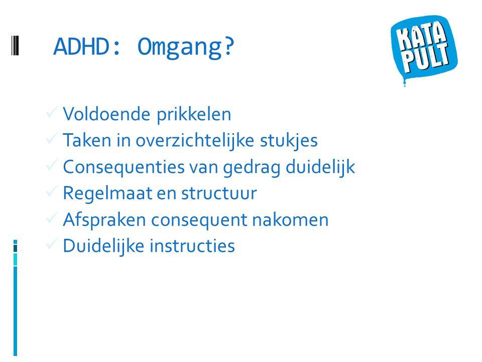 ADHD: Omgang.