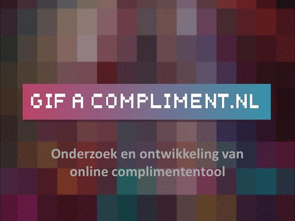 Onderzoek en ontwikkeling van online complimententool