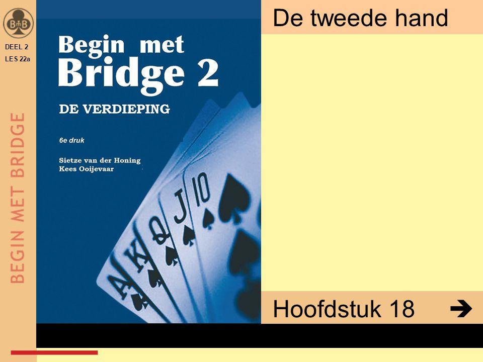 DEEL 2 LES 22a De tweede hand Hoofdstuk 18  x