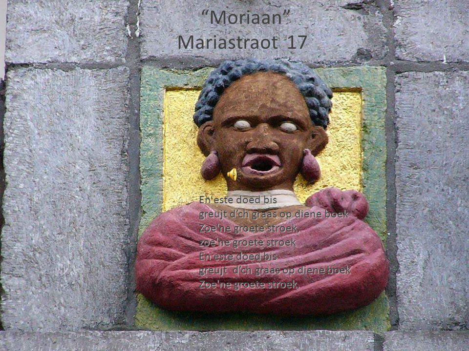 Moriaan Mariastraot 17 En este doed bis greujt d'ch graas op diene boek Zoe ne groete stroek, zoe ne groete stroek En este doed bis greujt d'ch graas op diene boek Zoe ne groete stroek.