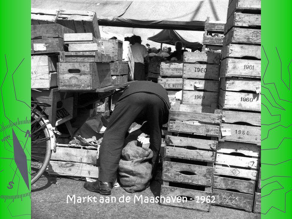 De markt op de Maashaven