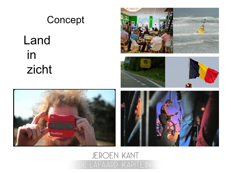 Concept Land in zicht
