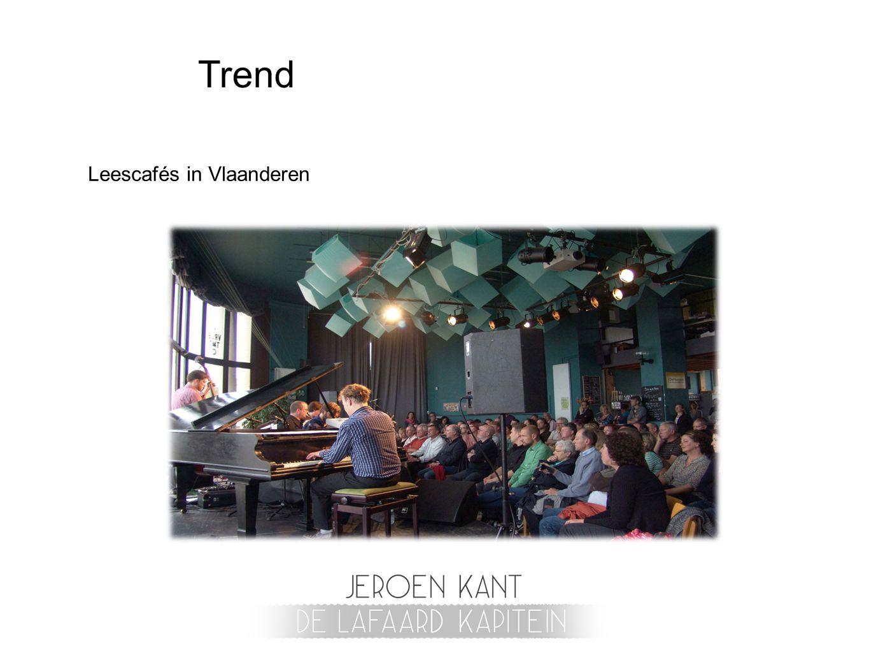 Trend Leescafés in Vlaanderen