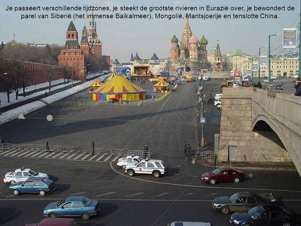 De 3 routes van de Transsiberische spoorlijn: Moskou – Peking via Mongolië Moskou – Irkutsk – Ulan-Bator – Peking (reisduur: 11 dagen / 10 nachten) Mo