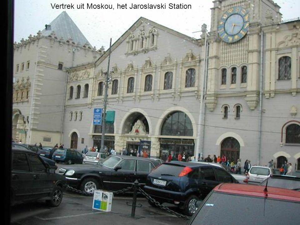 Vertrek uit Moskou, het Jaroslavski Station