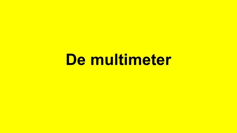 Analoge meter digitale meter Meters