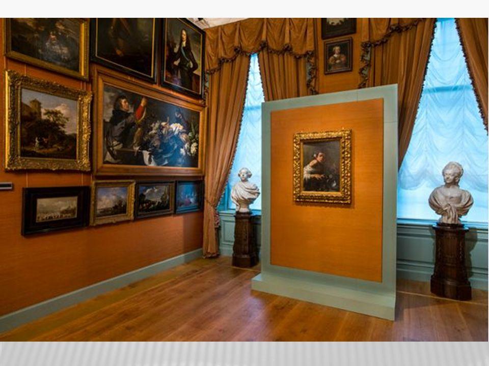 Toen Vincent van Gogh klaar was met school is hij gaan werken in een galerij.