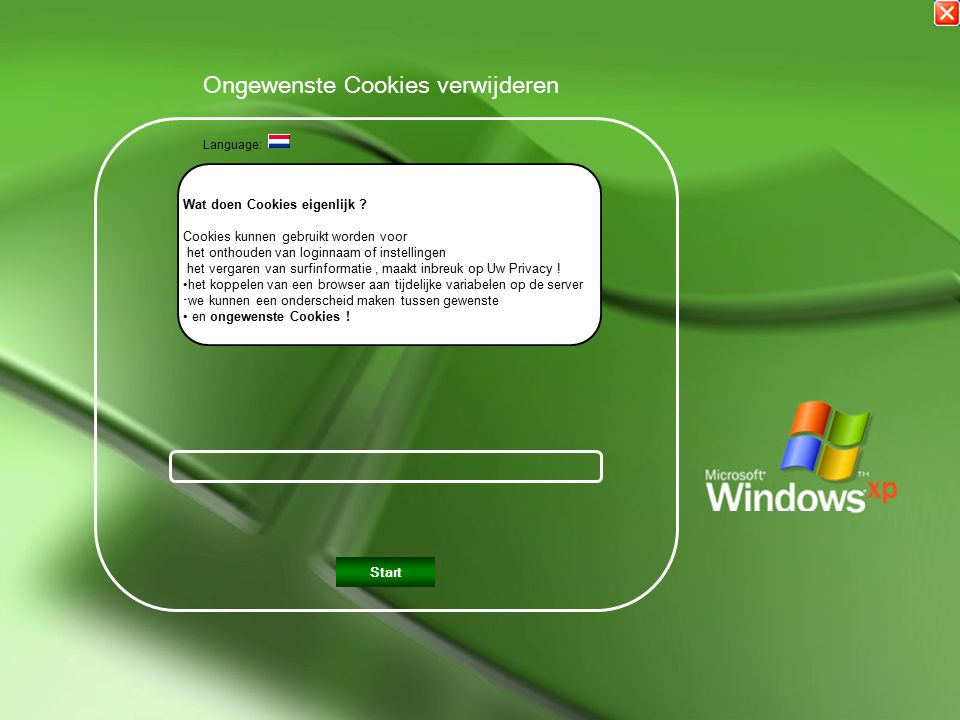 Klik op een vlag. Click on a flag Language: