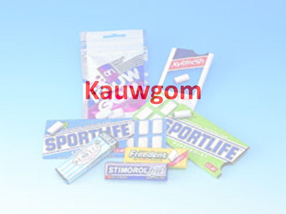 Inhoud: Geschiedenis van kauwgom Waar komt kauwgom vandaan en hoe maken ze het.