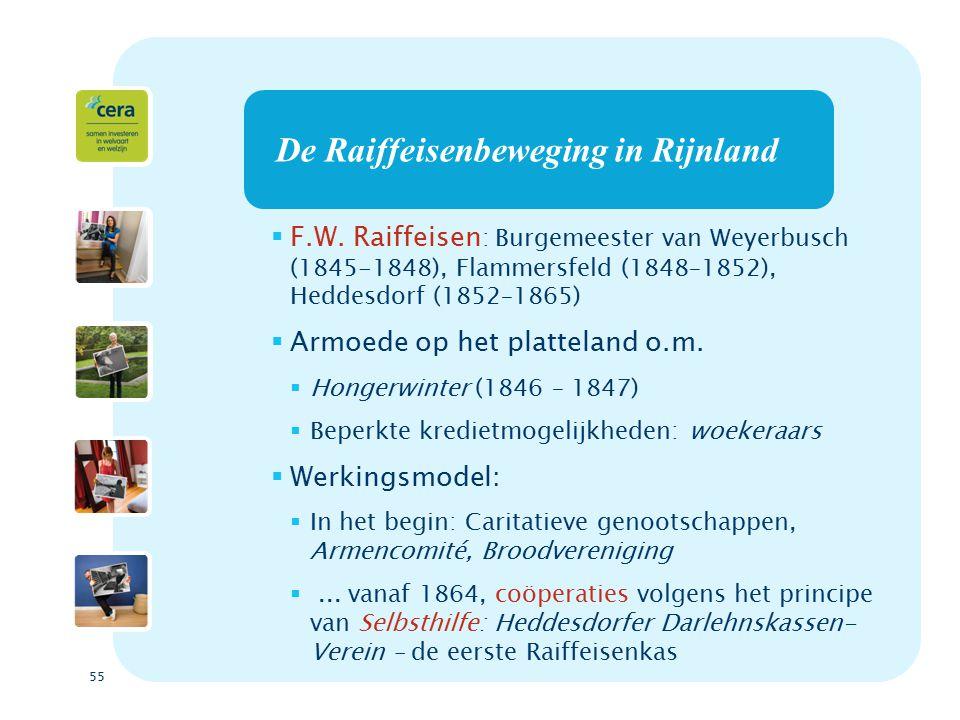 55 De Raiffeisenbeweging in Rijnland  F.W.