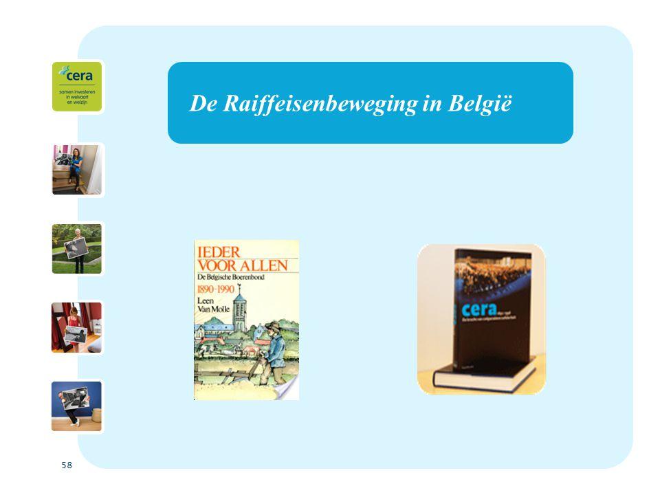 58 De Raiffeisenbeweging in België