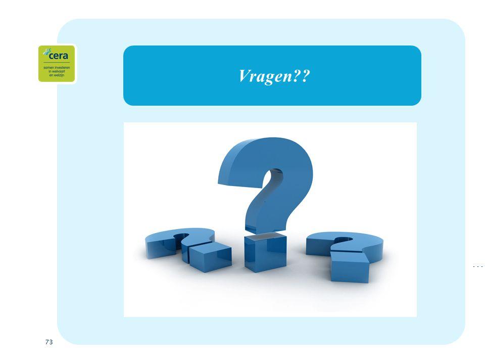 73 Vragen …