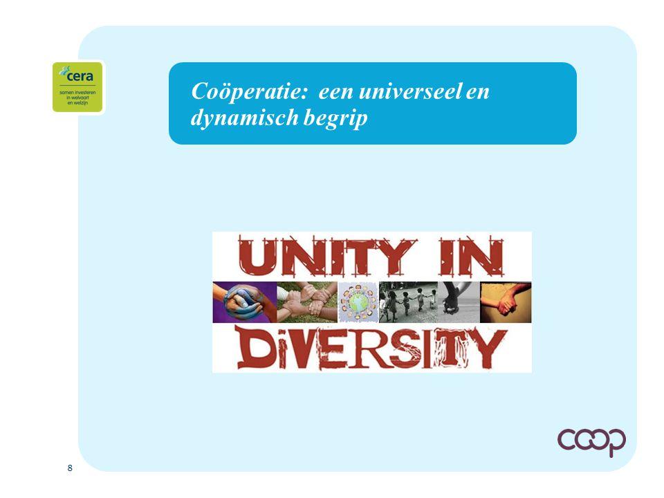 8 Coöperatie: een universeel en dynamisch begrip
