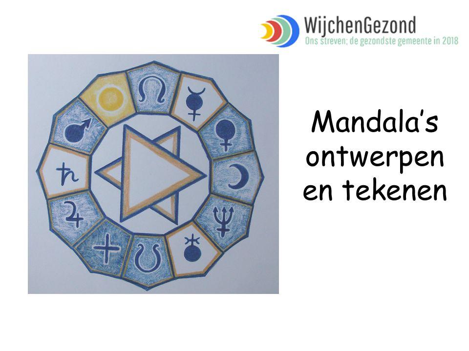 Mandala's ontwerpen en tekenen