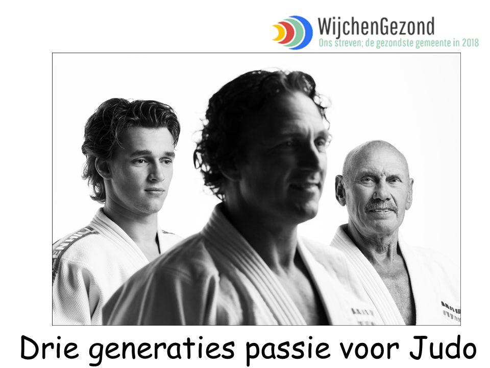 Drie generaties passie voor Judo