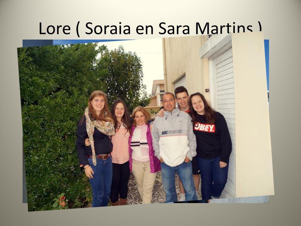 Lore ( Soraia en Sara Martins )