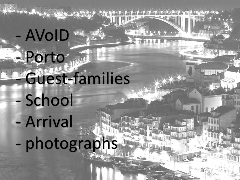 Avoid AVoID