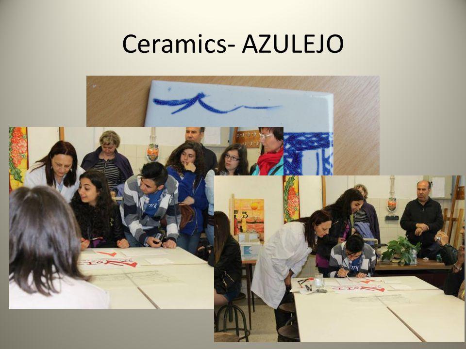 Ceramics- AZULEJO