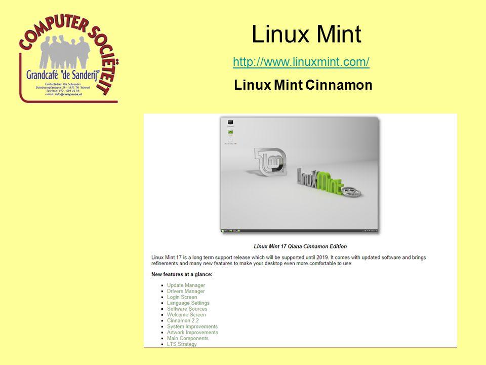 Linux Mint http://www.linuxmint.com/ Linux Mint Cinnamon