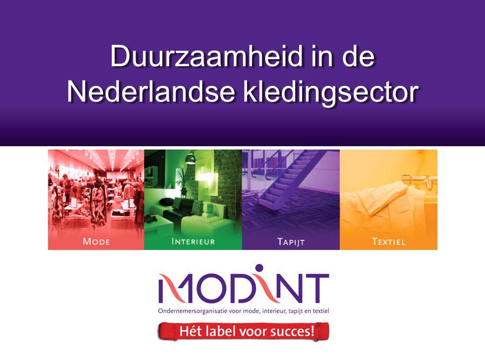 Duurzaamheid in de Nederlandse kledingsector