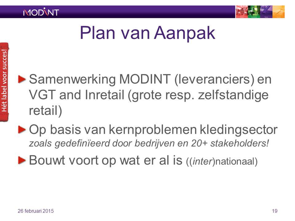Plan van Aanpak Samenwerking MODINT (leveranciers) en VGT and Inretail (grote resp.