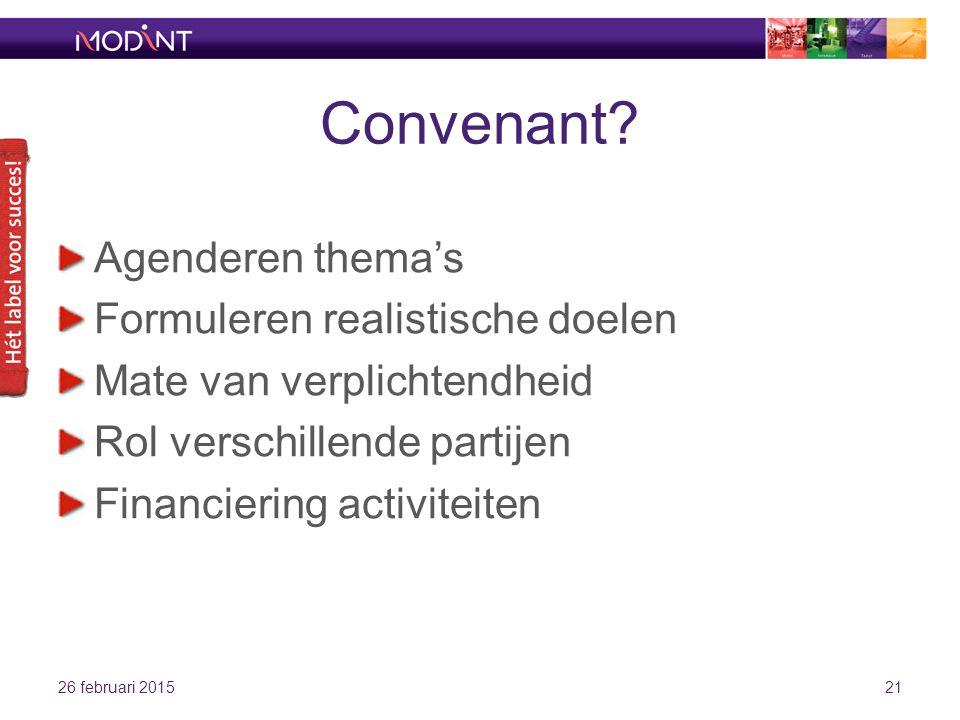 Convenant.