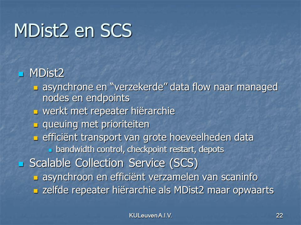 "KULeuven A.I.V.22 MDist2 en SCS MDist2 MDist2 asynchrone en ""verzekerde"" data flow naar managed nodes en endpoints asynchrone en ""verzekerde"" data flo"