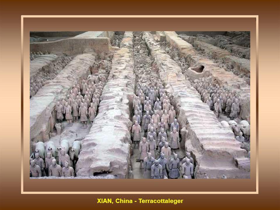XIAN, China - Terracottaleger