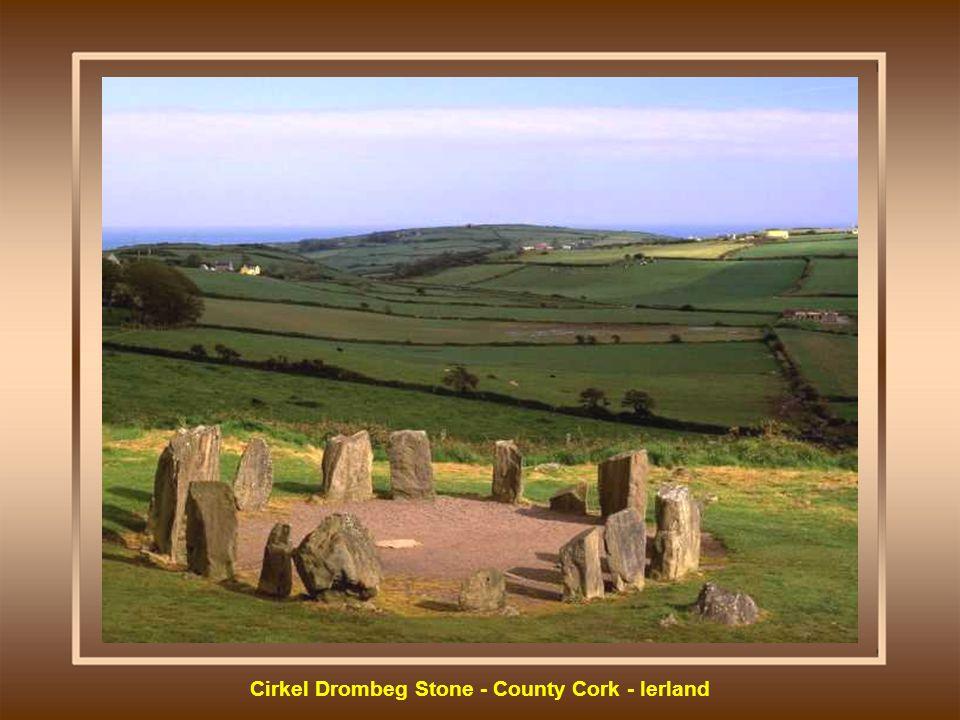 Cirkel Drombeg Stone - County Cork - Ierland