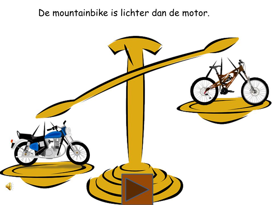 Wat is lichter, de motor of de mountainbikefiets?