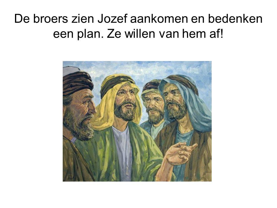 De broers zien Jozef aankomen en bedenken een plan. Ze willen van hem af!