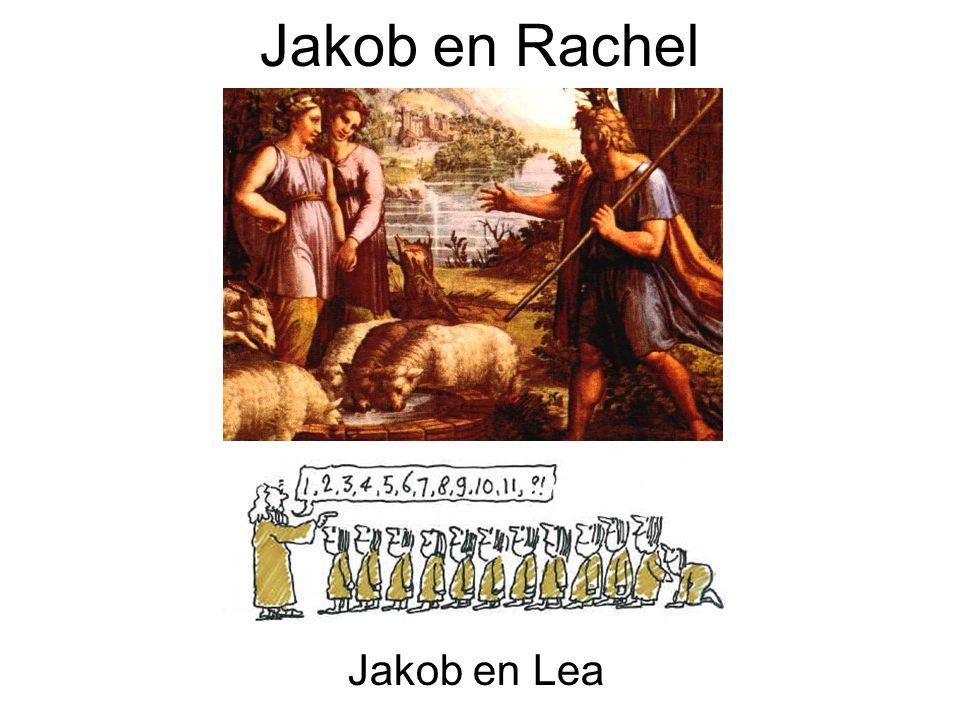 Jakob en Rachel Jakob en Lea