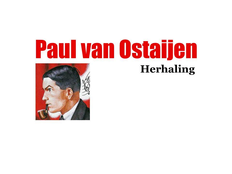 Paul van Ostaijen Herhaling