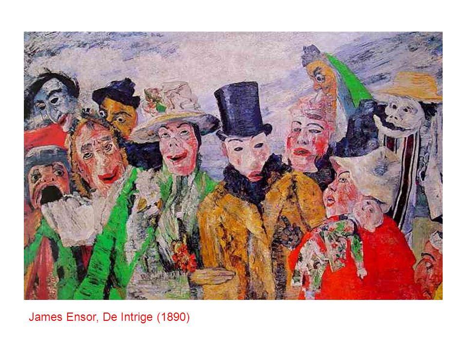 James Ensor, De Intrige (1890)