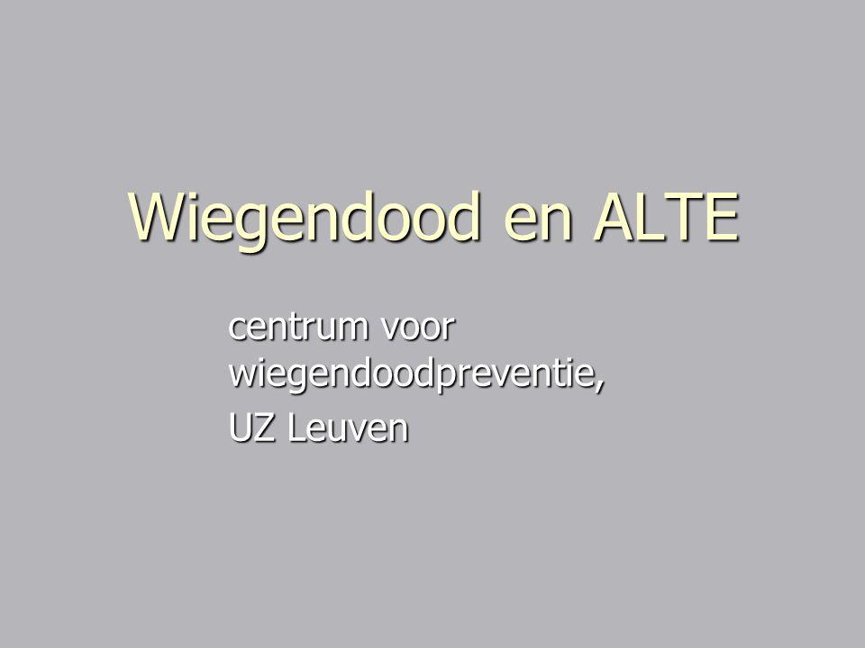 Wiegendood en ALTE centrum voor wiegendoodpreventie, UZ Leuven