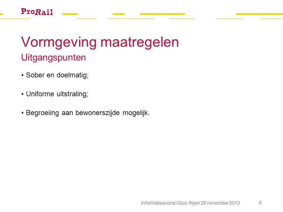Planning 19 Informatieavond Gilze-Rijen 26 november 2013