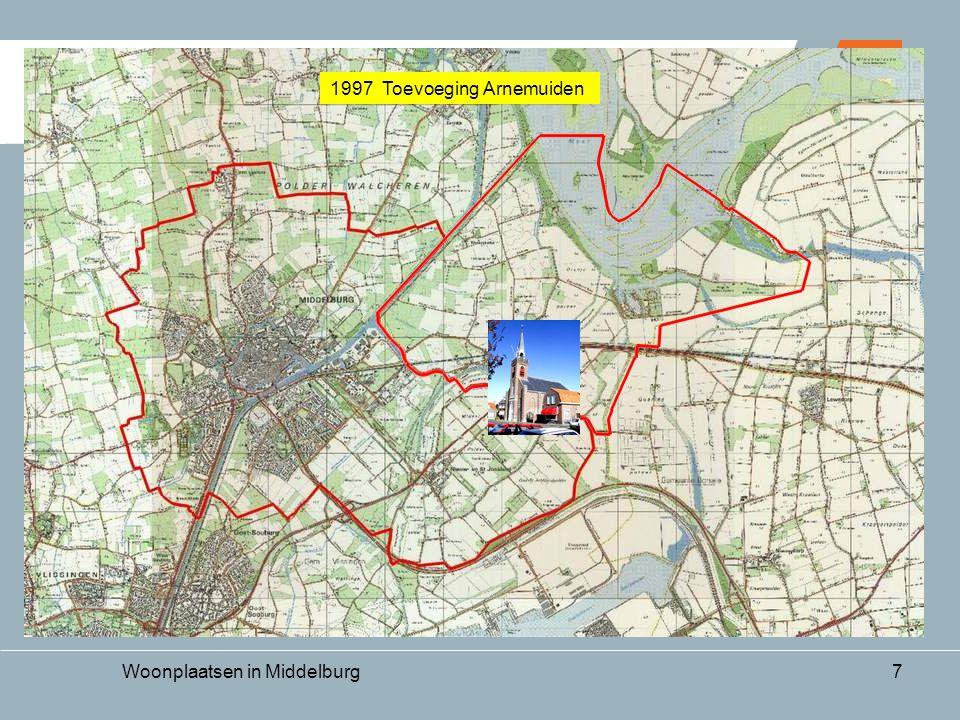 Woonplaatsen in Middelburg7 1997 Toevoeging Arnemuiden