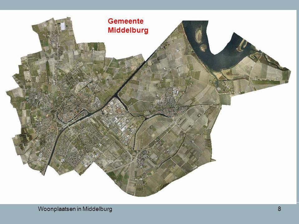 Woonplaatsen in Middelburg8 Gemeente Middelburg