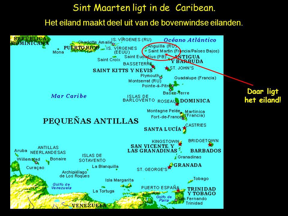 Sint Maarten ligt in de Caribean.Het eiland maakt deel uit van de bovenwindse eilanden.