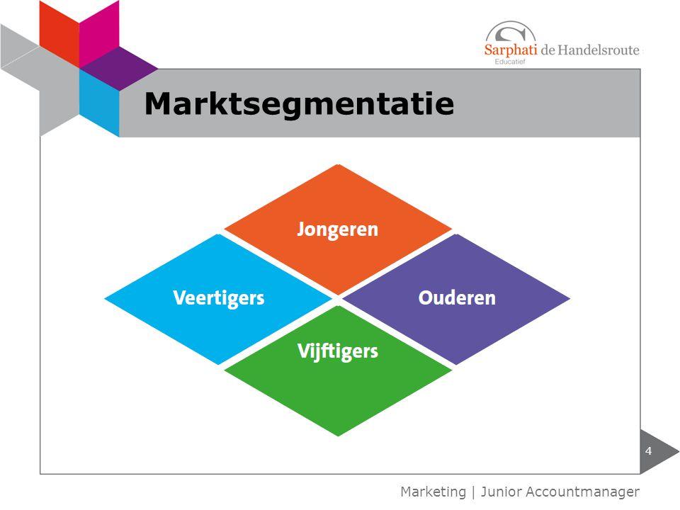 5 Marketing   Junior Accountmanager Doelgroepsegmentatie