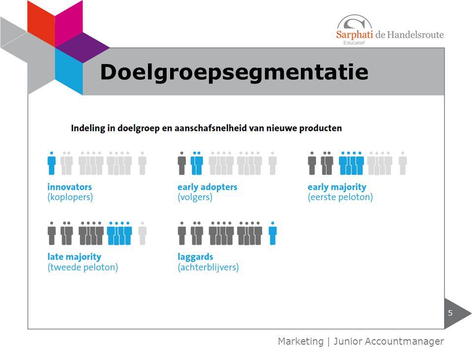 geconcentreerde marketingstrategie selectieve marketingstrategie volledige-marktdekkingstrategie 6 Marketing   Junior Accountmanager Marketingstrategieën
