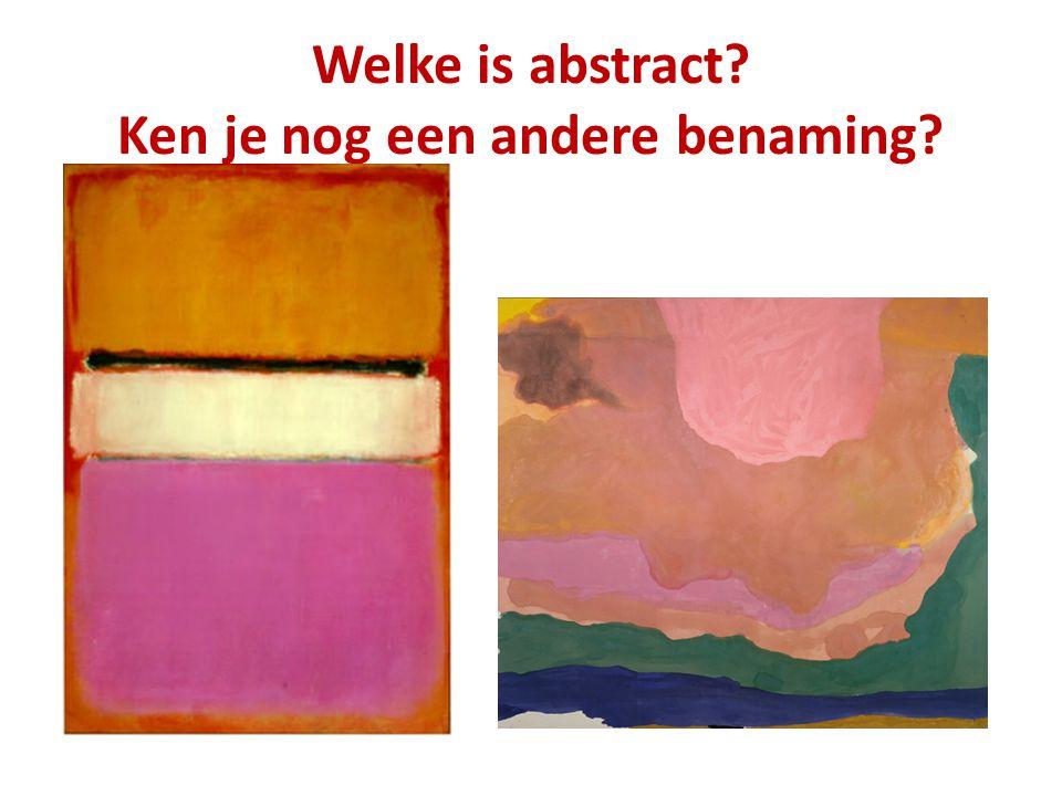 Hoe kon je zien dat het werk van Jackson Pollock expressionistisch was?