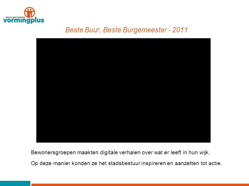 Wij Wijnegem - 2014 De gemeente Wijnegem wilde het verenigingsleven in kaart brengen.