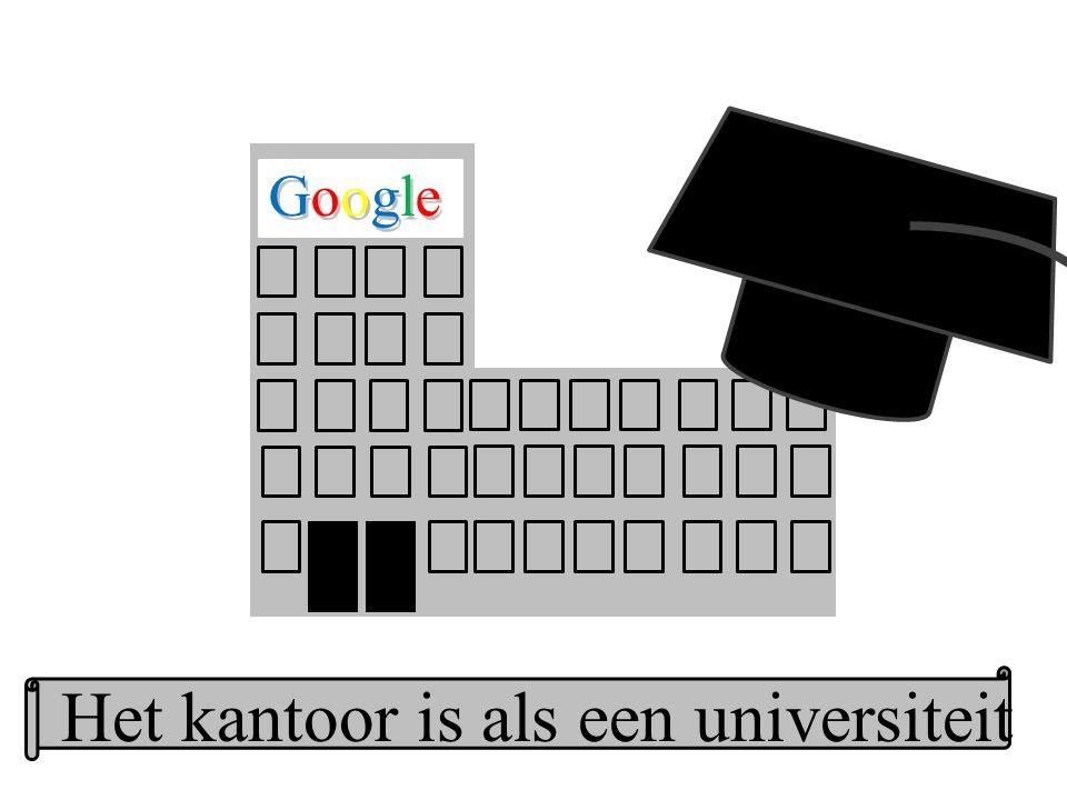 Google GoogleGoogle Het kantoor is als een universiteit