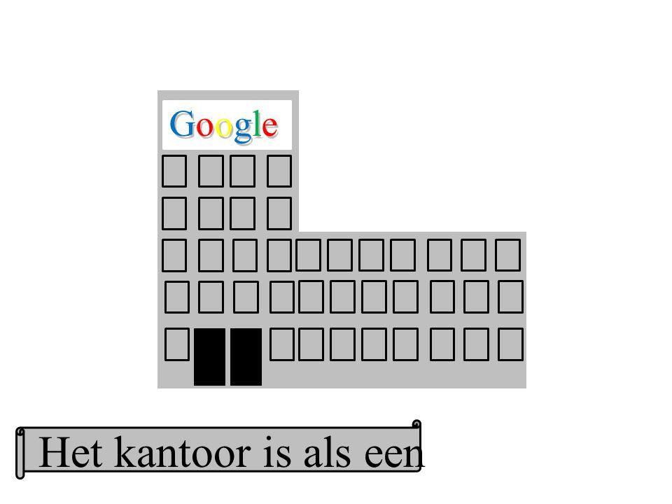 Google GoogleGoogle Het kantoor is als een