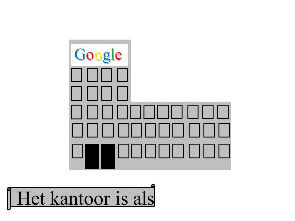 Google GoogleGoogle Het kantoor is als